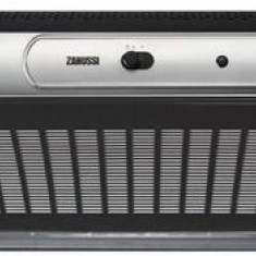 Hota traditionala Zanussi ZHT630X, Putere de absorbtie 190 mc/h, 1 motor, 60 cm (Negru/Inox)