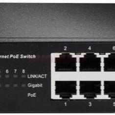 Switch Edimax GS-1008PHE, Gigabit, 8 porturi, 4 x PoE