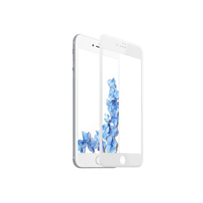 Tempered Glass - Ultra Smart Protection Iphone 7 Plus Fulldisplay alb foto