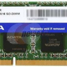 Memorie Laptop A-DATA SO-DIMM DDR3, 1x4GB, 1333MHz, CL9 (Retail) - Memorie RAM laptop