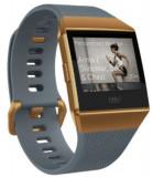 Bratara Fitness Fitbit Ionic, Bluetooth, GPS, Rezistent la apa (Albastru/Portocaliu)