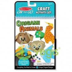 Melissa and Doug: Origami. Animale colorate 6 Ani+