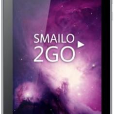 Tableta Smailo 2Go, Procesor Quad-Core 1.3GHz, TN Capacitive touchscreen 7inch, 2GB RAM, 16GB Flash, 2MP, Wi-Fi, 4G, Android (Gri)