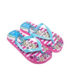 Papuci copii Frozen albastri
