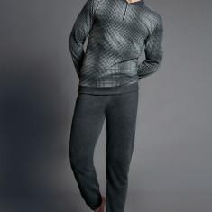 Set barbatesc Corrado, gri - Pijamale barbati