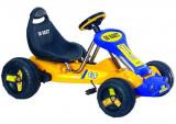 Kart cu pedale 9788A Galben