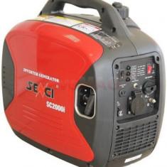Generator Invertor de Curent Senci SC-2000i, 2000W, 220V, Motor benzina Yamaha