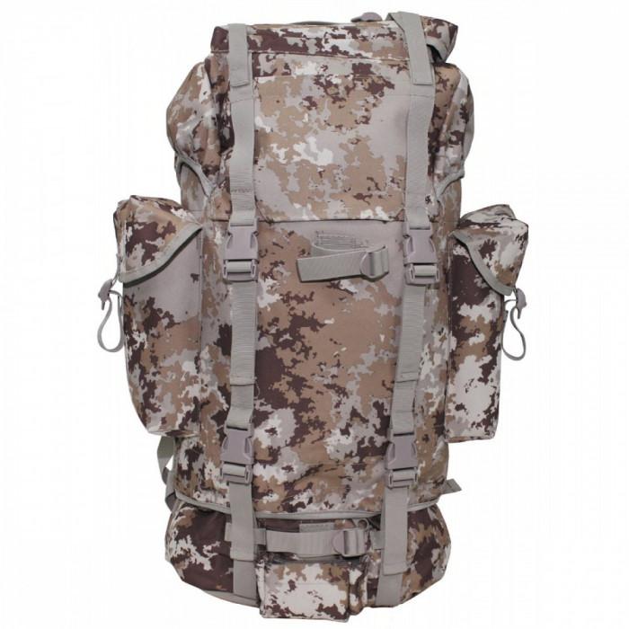 Rucsac MFH BW Combat Camuflaj Vegetato Desert Camo 65L 30253M