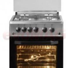 Aragaz BEKO CSG52120DX, 4 arzatoare, Aprindere electrica, 50cm (Inox)