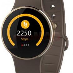Smartwatch MyKronoz ZeCircle 2, TFT Capacitive touchscreen, Bluetooth, Rezistent la apa si praf (Maro)