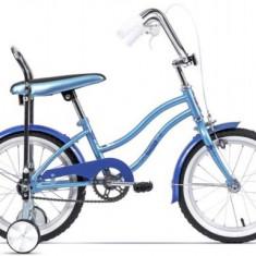 Bicicleta Pegas Mezin 2017 Fata, Cadru 9inch, Roti 16inch (Albastru) - Bicicleta copii
