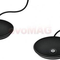 Microfoane Logitech Group, pentru sistem de videoconferinta, 3.5 mm (Negru) - Telefon VoIP