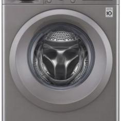 Masina de spalat rufe LG F4J5TN7S, 8 kg, 1400 RPM, Clasa A+++ (Argintiu)