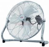 Ventilator podea Hauser F-4004 X, 90W (Inox)