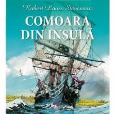 Comoara din insula (benzi desenate) - Robert Louis Stevenson