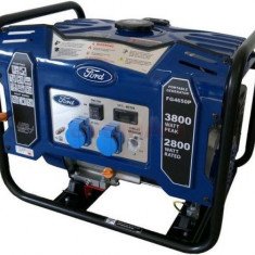 Generator Curent Electric Ford Tools FG4650P, 3800W, 230V, AVR inclus, Motor benzina