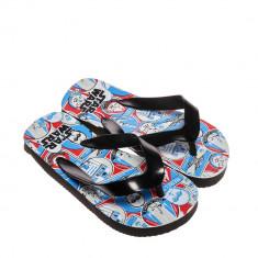 Papuci copii Star Wars negru cu albastru
