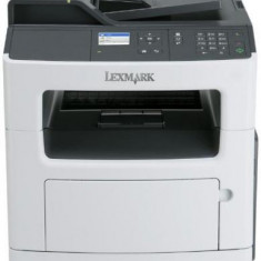 Multifunctional Lexmark MX317dn, laser alb-negru, Fax, A4, 33 ppm, Duplex, ADF, Retea - Multifunctionala