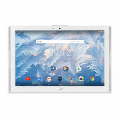 Tableta Acer Iconia, Procesor MTK MT8167A Quad-Core 1.3Ghz, IPS MultiTouch Capacitive, 10.1inch HD, 2GB RAM, 16GB Flash, 5MP, Android 7.0 (Alb)