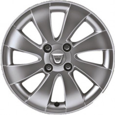 Janta Aliaj OE Dacia, ET 43 6 J X R15 4 prezone compatibil Logan/Sandero/MCV/Stepway (2009-2017) (1 bucata)