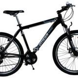Bicicleta Omega Dominator, Roti 27.5inch, 21 viteze (Negru/Albastru), 27.5