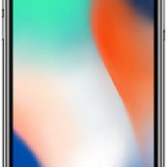 Telefon Mobil Apple iPhone X, iOS 11, OLED Multi-Touch display 5.8inch, 3GB RAM, 256GB Flash, Dual 12MP, Wi-Fi, 4G, iOS (Silver)