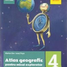 Atlas geografic pentru micul explorator - Clasa 4 - Marian Ene