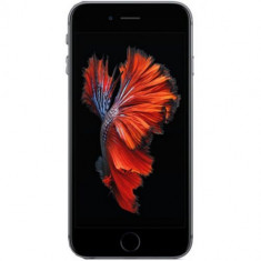 Telefon Mobil Apple iPhone 6S, Procesor Apple A9, IPS LED-backlit Multi‑Touch 4.7inch, 2GB RAM, 128GB flash, 12MP, Wi-Fi, 4G, iOS 9 (Gri Spatial) - Telefon iPhone