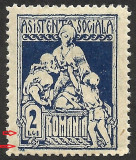 Cumpara ieftin VARIETATE--ASISTENTA SOCIALA--CADRU PARTIAL LIPSA--1921 MNH, Nestampilat