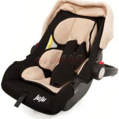 Cos auto Juju Baby Boo (Bej/Negru) - Scaun auto copii