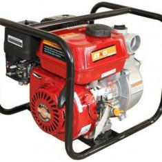 Motopompa Senci SCWP-50 pentru apa curata, debit apa 30 mc/h, diametru refulare 50 mm, Motor Senci 7 cp, Benzina