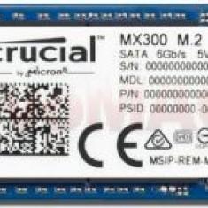 SSD Crucial MX 300 Series, 1TB, M.2 2280, SATA III 600