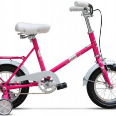 Bicicleta Pegas Soim, Cadru 12inch, Roti 12inch (Roz) - Bicicleta copii