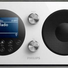 Radio cu ceas Philips AE8000/10, portabil (Argintiu)