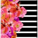 Protectie spate Benjamins Flower pentru Apple iPhone 7/8 (Multicolor) - Husa Telefon