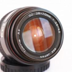 Obiectiv AF Tokina 28-70mm f 3.5-4.5 montura Sony Minolta A - Obiectiv DSLR Tokina, Standard, Autofocus, Stabilizare de imagine