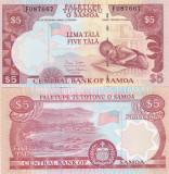Samoa 5 Tala 2002 UNC