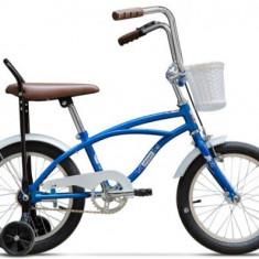 Bicicleta Pegas Mezin 1S, Cadru 9inch, Roti 16inch (Albastru) - Bicicleta copii