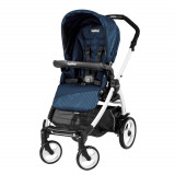 Carucior 3 in 1 Peg Perego Book Plus 51 BlackWhite Sportivo Geo Geo Navy