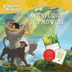 Aventurile lui Mowgli. Cartea junglei - Citesc si ma joc! - Carte educativa