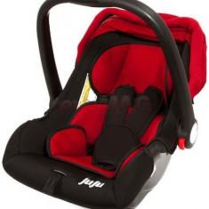 Cos auto Juju Baby Boo (Rosu/Negru) - Scaun auto copii
