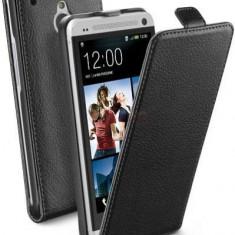 Husa Cellularline FLAPESSENONEMINIBK pentru HTC ONE Mini (Neagra) - Husa Telefon