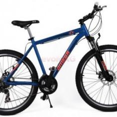 Bicicleta Omega Hawk, Roti 26inch, 21 viteze (Albastru) - Bicicleta de oras