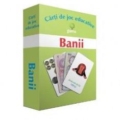 Banii - Carti de joc educative - Carte educativa