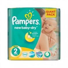 Pampers Giant Nr.2 100buc