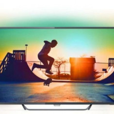 Televizor LED Philips 127 cm (50inch) 50PUS6262/12, Ultra HD 4K, Smart TV, Ambilight, WiFi, CI+