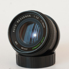 Obiectiv Auto Revuenon 35mm 2.8 montura Pentax K - Obiectiv DSLR Pentax, Manual focus