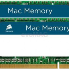 Memorie Laptop Corsair Mac SO-DIMM DDR3, 2x8GB, 1333MHz (9-9-9-24)