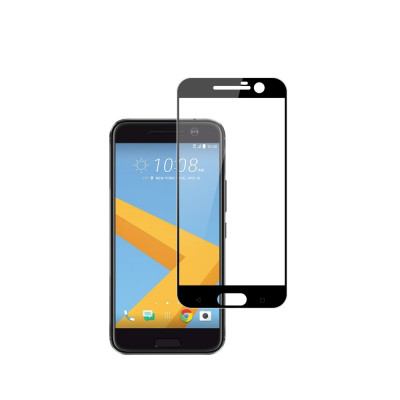 Tempered Glass - Ultra Smart Protection HTC 10 Fulldisplay negru foto
