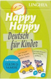Happy Hoppy. Deutsch fur Kinder. Cartonase: Culori si numere